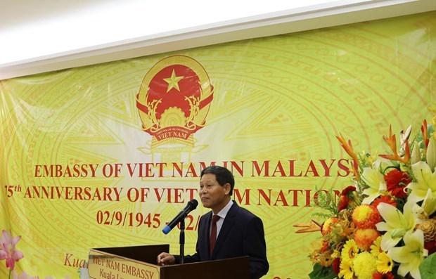 Celebran en Malasia aniversario 75 del Dia Nacional de Vietnam hinh anh 1