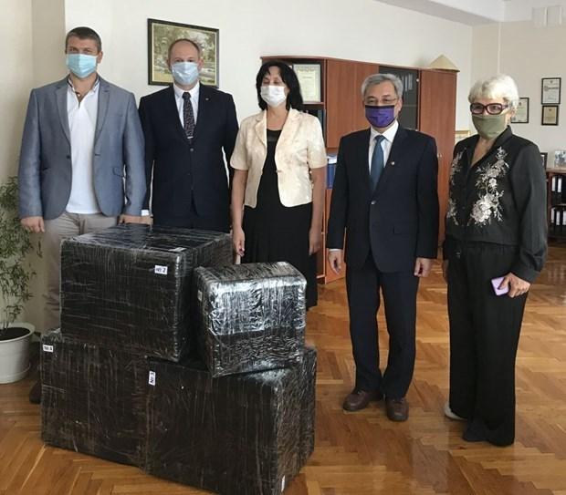 Fortalecen Vietnam y Ucrania la amistad hinh anh 1
