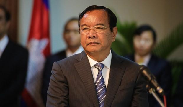 Camboya reafirma postura sobre asuntos del Mar del Este hinh anh 1