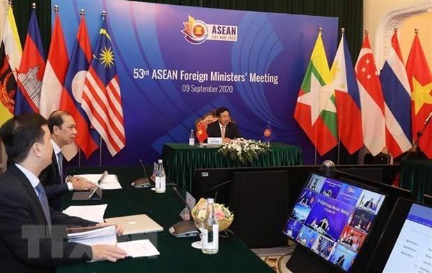 Union Europea valora exito de Vietnam en organizacion de la AMM 53 hinh anh 1