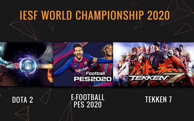 Celebraran en Hanoi torneos de deportes electronicos para el Campeonato Mundial 2020 hinh anh 1