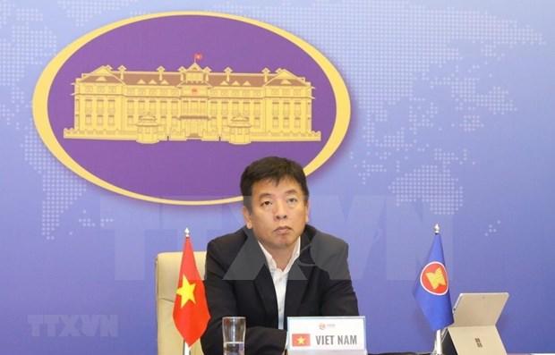 Foro regional de ASEAN continua generando la confianza y asegurando la paz hinh anh 1