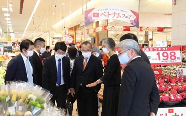 Promueven ventas de productos vietnamitas en Japon hinh anh 1