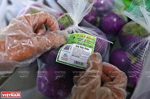 Hanoi desarrolla sistema de trazabilidad de productos agricolas hinh anh 1