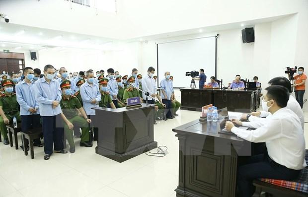 Condenados a pena de muerte dos acusados en caso de disturbio en Dong Tam hinh anh 1
