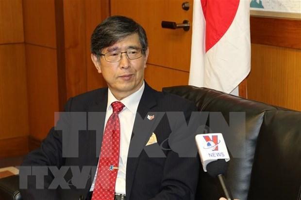 Aprecia embajador japones liderazgo de Vietnam en ASEAN hinh anh 1