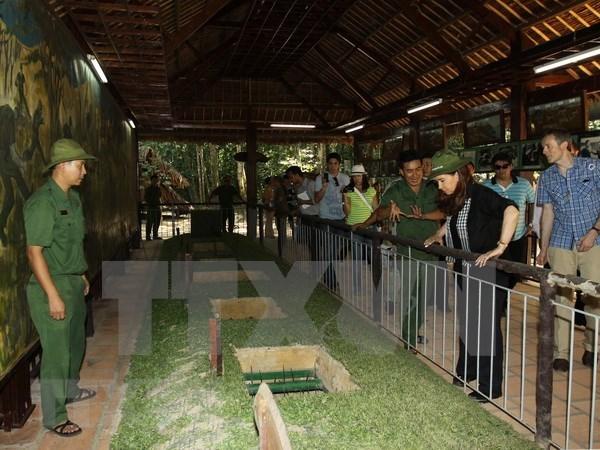 Tuneles de Cu Chi de Vietnam buscan reconocimiento de UNESCO como patrimonio mundial hinh anh 1