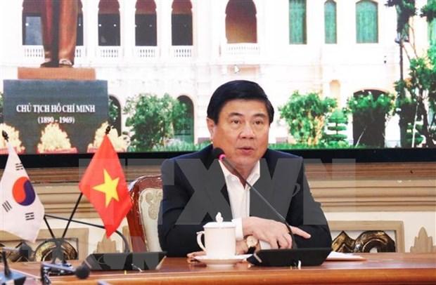 Urbe sudcoreana de Daegu desea respaldar a Ciudad Ho Chi Minh en construccion de urbe inteligente hinh anh 1