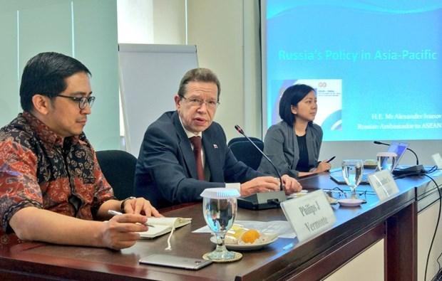 Rusia aprecia los esfuerzos de Vietnam como presidente de la ASEAN hinh anh 1