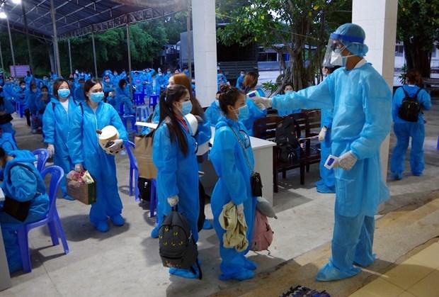 Vietnam: Otros cinco pacientes recuperados del COVID-19 hinh anh 1