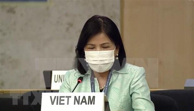 Vietnam reafirma compromiso de promover los derechos humanos en medio del COVID-19 hinh anh 1