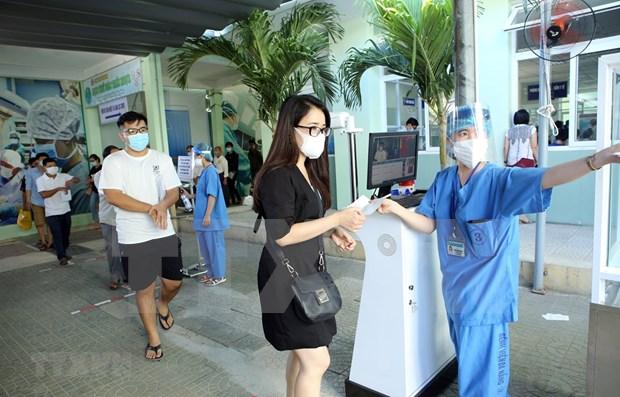 Hospital de Da Nang reanuda servicios de tratamiento para todos los pobladores hinh anh 1