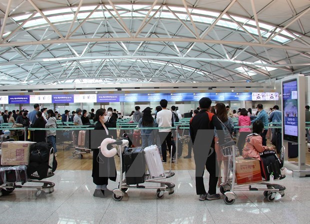 Cientos de vietnamitas regresan al pais desde Corea del Sur hinh anh 1