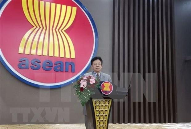 China aprecia papel de Vietnam como presidente rotativo de ASEAN en AMM 53 hinh anh 1