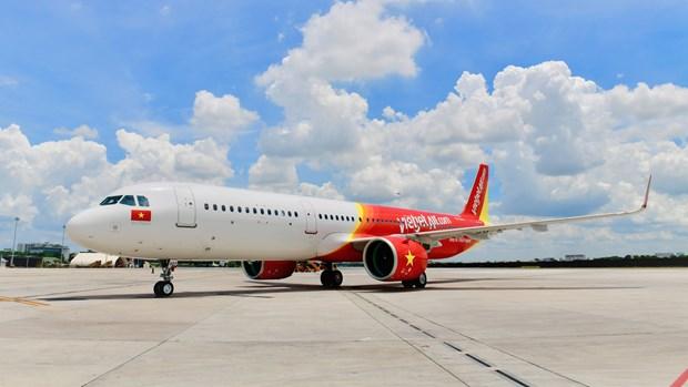 Vietjet Air recupera su red de vuelos nacionales con boletos promocionales hinh anh 1