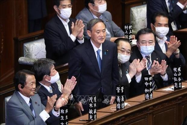 Vietnam felicita a Suga Yoshihide por su eleccion como primer ministro de Japon hinh anh 1