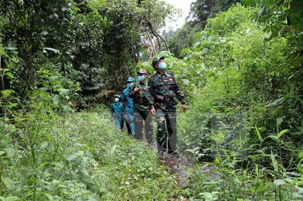 Provincia vietnamita mantiene en alto vigilancia en frontera para prevenir propagacion de COVID-19 hinh anh 1