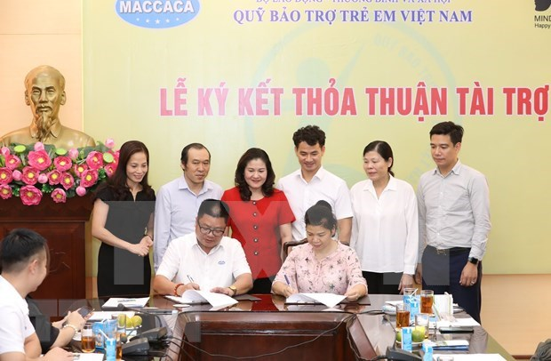 Empresas vietnamitas unen esfuerzos para respaldar a ninos menos favorecidos hinh anh 1