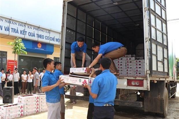 Vietnam exporta primer lote de frutas a la UE bajo las normas del EVFTA hinh anh 1
