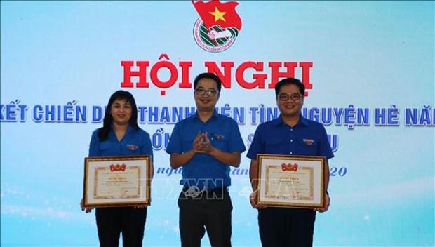 Destacan resultados de la Campana Veraniega de Jovenes Voluntarios en la provincia vietnamita de Bac Lieu hinh anh 1