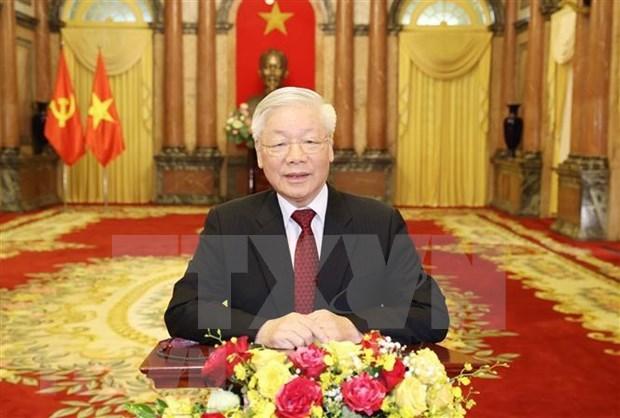Dirigentes vietnamitas enviaran mensajes a 75 Asamblea General de ONU hinh anh 1