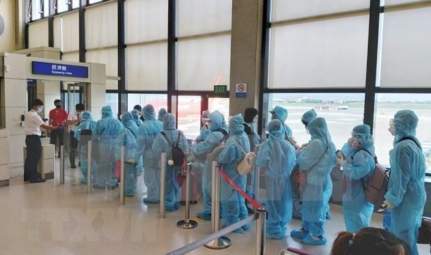 Vietnam trae de regreso a casa a cerca 280 ciudadanos desde Europa hinh anh 1