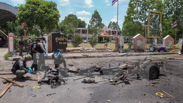 Tailandia extiende el estado de emergencia en tres provincias del sur hinh anh 1