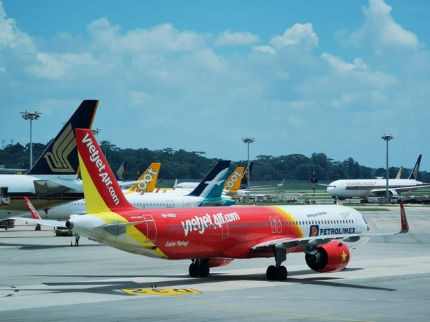 Vietjet Air vuelve al cielo internacional con destinos seguros hinh anh 1