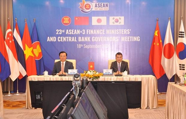 ASEAN+3 debate medidas para impulsar crecimiento economico hinh anh 1