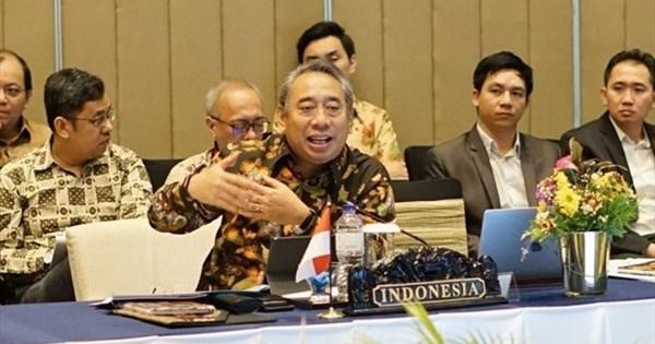 AMM53: Indonesia destaca resultados de la cooperacion regional en respuesta al COVID-19 hinh anh 1