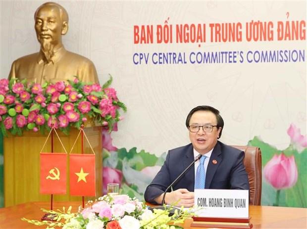 Fortalecen relaciones entre Partido Comunista de Vietnam y Partido del Trabajo de Mexico hinh anh 1