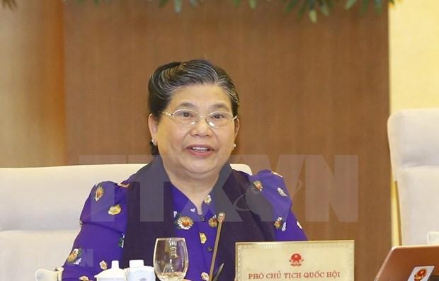 Clausuran 48 reunion de Comite Permanente del Parlamento de Vietnam hinh anh 1