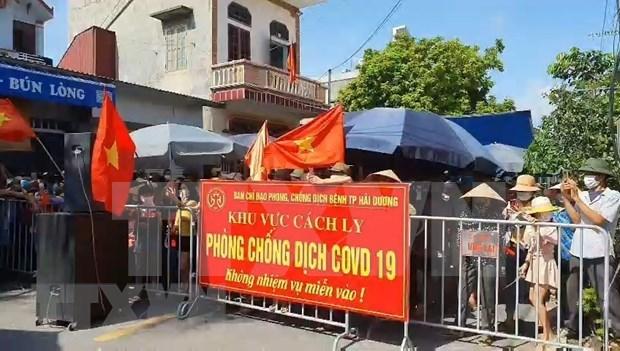 Vietnam: 16 dias sin infeccion comunitaria del COVID-19 hinh anh 1