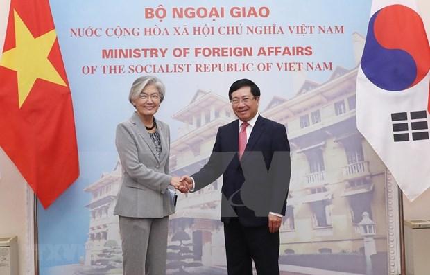 Vietnam y Corea del Sur fortalecen nexos de cooperacion bilateral hinh anh 1
