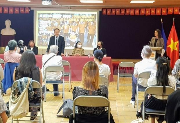 Encuentro de jovenes franceses de origen vietnamita por justicia para victimas de dioxina hinh anh 1