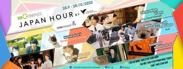 Presentaran al publico vietnamita el cine japones esta semana hinh anh 1