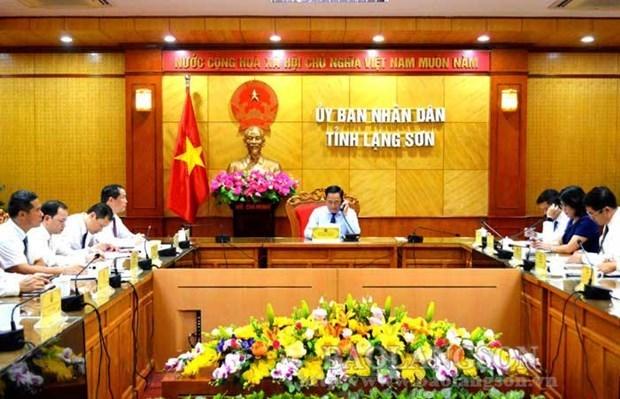 Localidades vietnamita y china buscan promover comercio en medio del COVID- 19 hinh anh 1