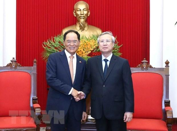 Vietnam y Corea del Sur fomentan relaciones bilaterales en nueva coyuntura hinh anh 1