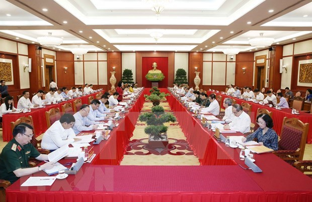 Supervisan preparativos para VII Asamblea partidista de las fuerzas policiacas de Vietnam hinh anh 1