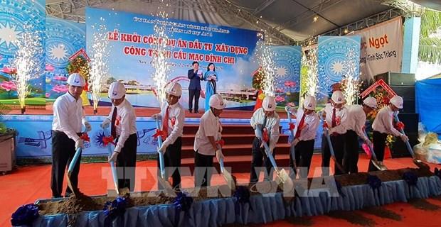 Provincia vietnamita de Soc Trang comienza construccion de obras de infraestructura clave hinh anh 1