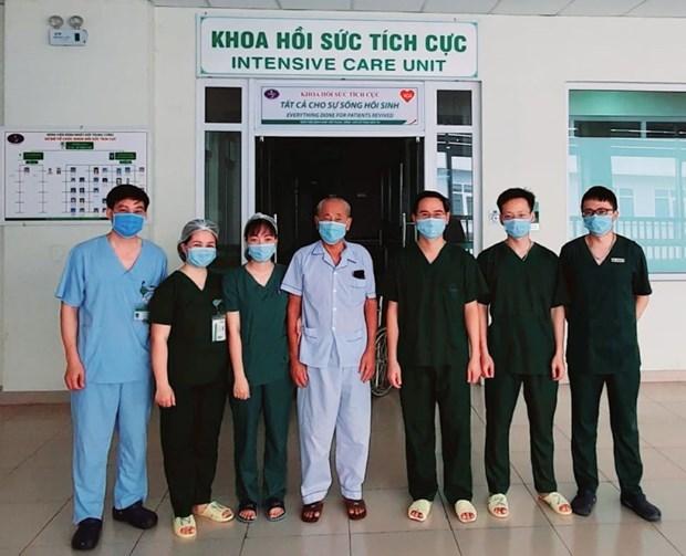 Recuperados casi 90 por ciento de pacientes de COVID-19 en Vietnam hinh anh 1