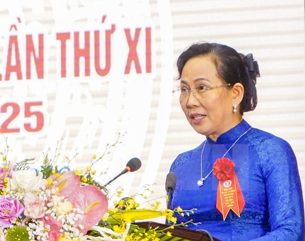 Reeligen a secretaria del Comite del Partido Comunista de Vietnam en provincia de Ha Nam hinh anh 1