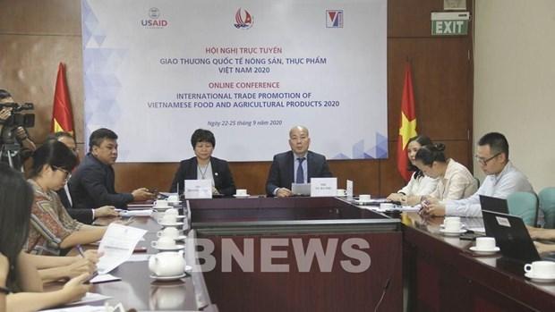 Efectuan en Hanoi mayor evento de promocion comercial de alimentos y productos agricolas hinh anh 1