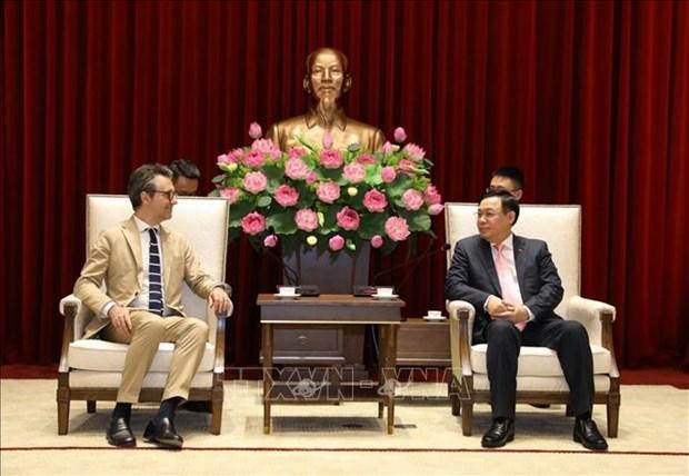 Hanoi da la bienvenida a las empresas de Union Europea, dice alto funcionario hinh anh 1