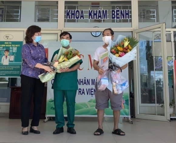 Recuperado el ultimo paciente del COVID-19 en Da Nang hinh anh 1