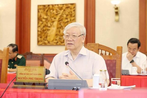 Dirigentes de Vietnam felicitan a Arabia Saudita por su Dia Nacional hinh anh 1
