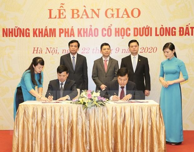 Establecen area de descubrimientos arqueologicos subterraneos de la sede del Parlamento vietnamita hinh anh 1