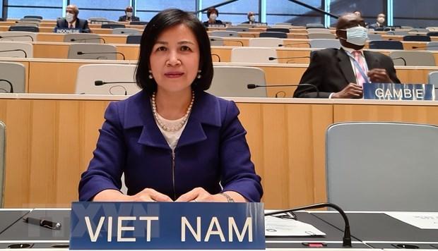 Aprecia Vietnam eficiencia de actividades y logros de WIPO hinh anh 1