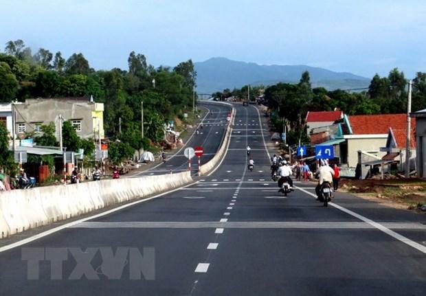 Inician construccion de carretera para impulsar el turismo en Binh Phuoc hinh anh 1
