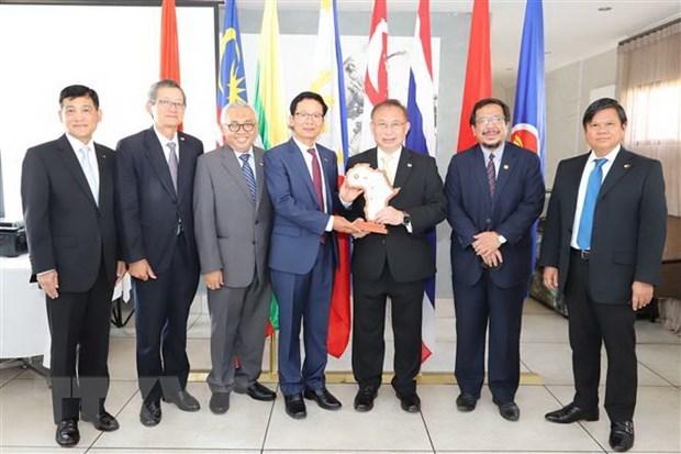 Embajadores en Sudafrica valoran papel de Vietnam como presidente de la ASEAN hinh anh 1